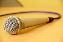 Mikrofon Obrazy Royalty Free