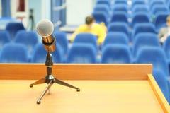 Mikrofon royaltyfri bild