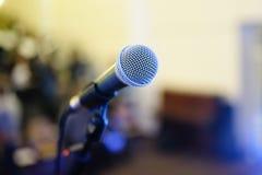 Mikrofon Royaltyfri Fotografi
