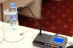 Mikrofon Arkivfoto