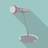 Mikrofon auf Stand Lizenzfreie Stockfotografie