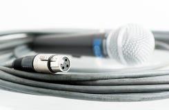 Mikrofon dźwigarka obrazy stock
