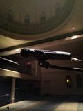 Mikrofon in der Moschee Stockbild