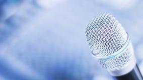 Mikrofon dla konferenci Zdjęcie Stock