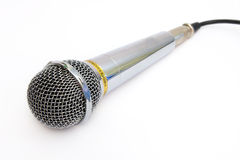 Mikrofon för karaoke Arkivbilder