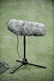 Mikrofon för yrkesmässig sport Fotografering för Bildbyråer