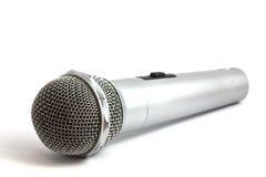 Mikrofon getrennt auf Weiß Lizenzfreie Stockfotografie
