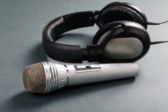 Mikrofon i telefony obrazy royalty free