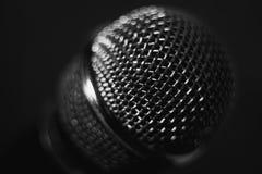 Mikrofon på etapp Närbild Royaltyfria Foton