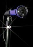 Mikrofon på Stand Royaltyfria Foton