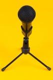 Mikrofon på stand Arkivbild