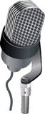 mikrofon rozmaitość Zdjęcie Stock