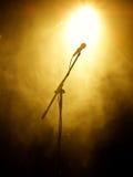 mikrofon scena Fotografia Stock