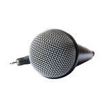 Mikrofon trennte Stockfoto
