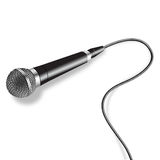 Mikrofon-Vektor Lizenzfreie Stockbilder