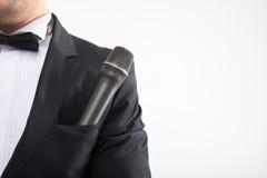 Mikrofon w kieszeni Zdjęcie Stock