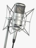 mikrofonen framför studion Royaltyfri Foto