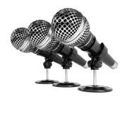 mikrofoner Royaltyfri Foto