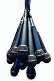 mikrofoner Royaltyfria Bilder