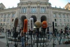 mikrofoner Arkivbild