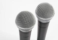 mikrofoner arkivfoto