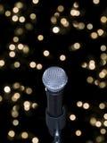 mikrofonetapp Royaltyfri Foto