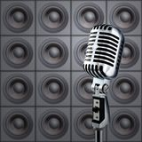 mikrofonhögtalare Royaltyfri Bild