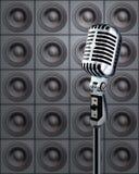 mikrofonhögtalare Royaltyfria Foton