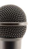Mikrofonkopf. Stockfoto