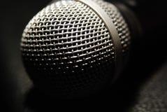 mikrofonmusik Royaltyfri Bild