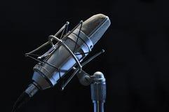 mikrofonprofesional Arkivfoton