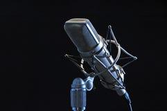 mikrofonprofessionell Royaltyfri Fotografi