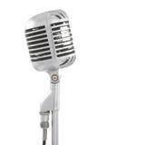 mikrofonstand Arkivfoton