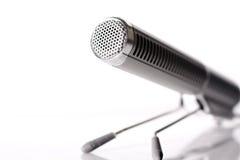 mikrofontabell Arkivfoton