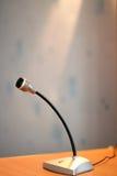 mikrofontabell Royaltyfria Foton