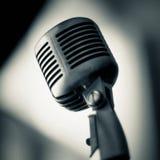 mikrofonu rocznik Zdjęcie Royalty Free