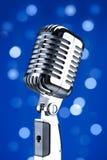 mikrofonu rocznik Obraz Royalty Free