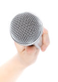 mikrofonu srebro Obraz Royalty Free