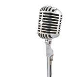 mikrofonu stojak Obrazy Royalty Free