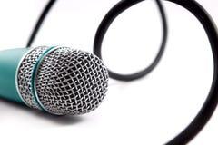 Mikrofonu szczegół Zdjęcia Stock