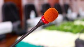 Mikrofonu wiatru ekran Zdjęcia Royalty Free