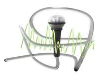 Mikrofonu wizerunek Fotografia Stock