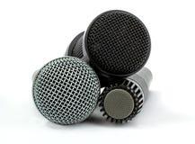 Mikrofonuppsättning royaltyfri bild