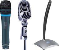mikrofony Fotografia Stock
