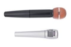 mikrofony dwa Obraz Stock