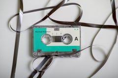 Mikrokassettband som en bandspelare åt Royaltyfria Foton
