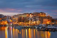 Mikrolimano,雅典。 免版税库存照片