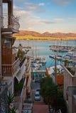 Mikrolimano,雅典。 库存图片