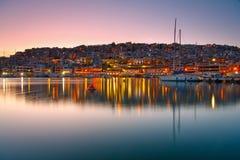 Mikrolimano,雅典。 免版税库存图片
