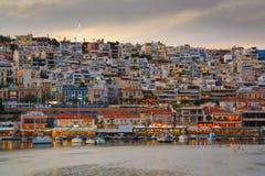 Mikrolimano, Atenas. Foto de archivo